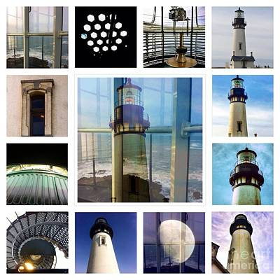 Yaquina Head Lighthouse Essence  Poster