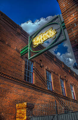 Ybor Square Poster by Marvin Spates