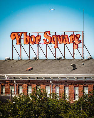 Ybor Square Poster by Ybor Photography