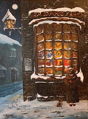 Ye Old Toy Shoppe Poster by Jean Walker
