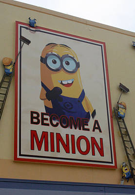 Year Of The Minions Poster by David Nicholls