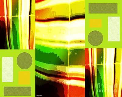 Yellow Bliss Poster by Ann Calvo