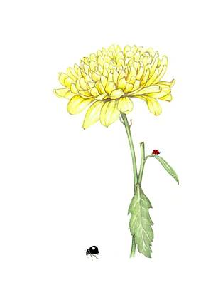 Yellow Fun Poster by Heidi Kriel
