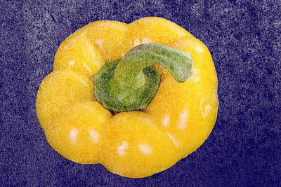 Poster featuring the photograph Yellow Bell Pepper by Vizual Studio