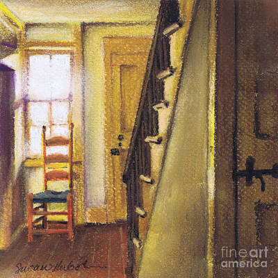 Poster featuring the painting Yellow Room by Susan Herbst