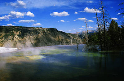 Yellowstone National Park 3 Poster