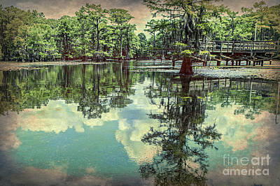 Yesteryear At Caddo Lake Poster