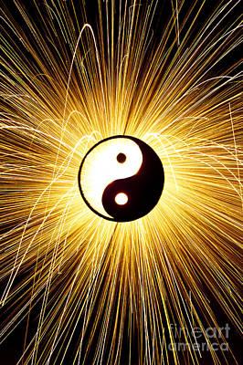 Yin Yang Light Poster