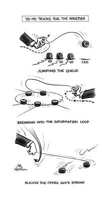 Yo-yo Tricks For The Nineties Poster by Ed Fishe