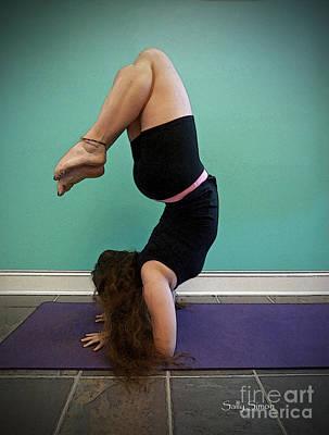 Yoga Study 10 Poster