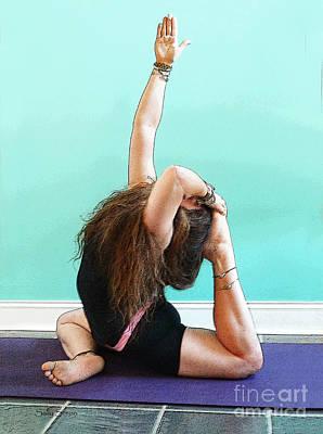 Yoga Study 3 Poster