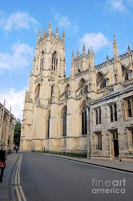 York Minster From The South Poster by Ross Sharp