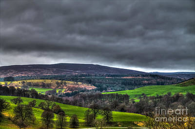 Yorkshire Dales Of Wharfedale Poster by Juha Remes