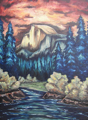 Yosemite Poster by Cheryl Pettigrew