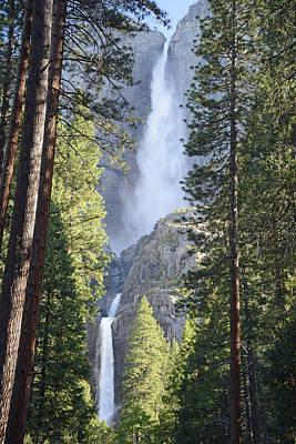 Yosemite Falls In Morning Splendor Poster