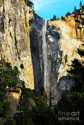 Yosemite Falls Poster by Laraine  C Photography