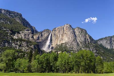Yosemite Great Falls Poster by Francesco Emanuele Carucci