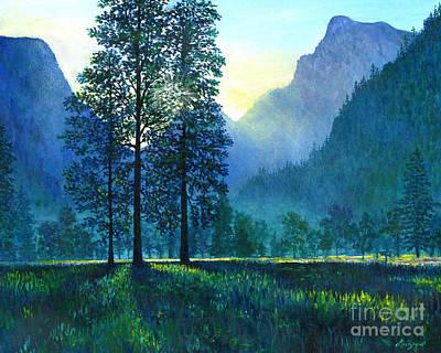 Yosemite Morning  Poster