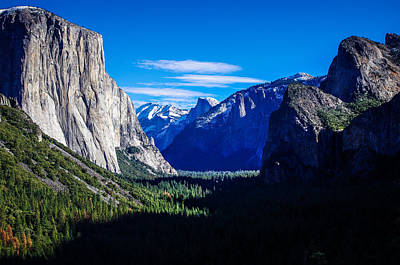 Yosemite National Park Tunnel View Poster