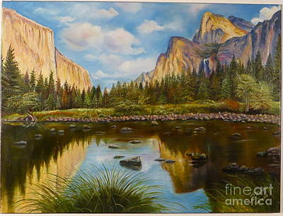 Yosemite Poster by Rosario Meza