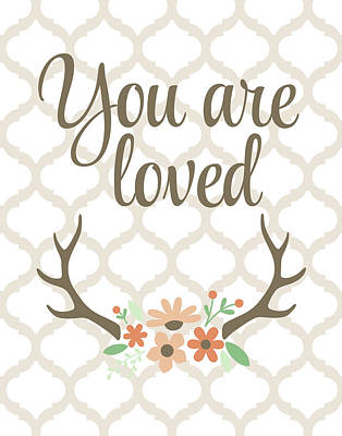You Are Loved Poster by Tamara Robinson