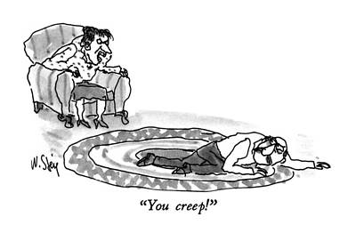 You Creep! Poster