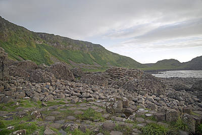 You Rock -- Giant's Causeway -- Ireland Poster by Betsy Knapp