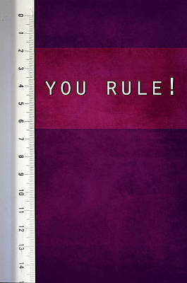 You Rule Poster by Randi Grace Nilsberg