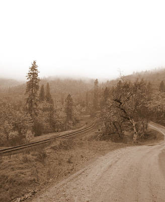 Poster featuring the photograph You Take The High Road And I Will Take The . . .  by Marie Neder
