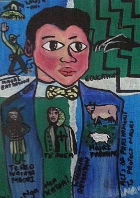 Young Apirana Ngata Poster