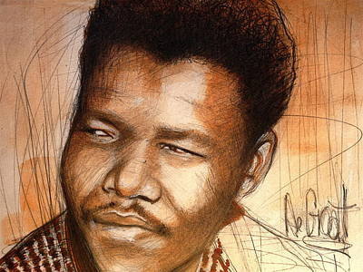 Young Mandela Poster by Gregory DeGroat