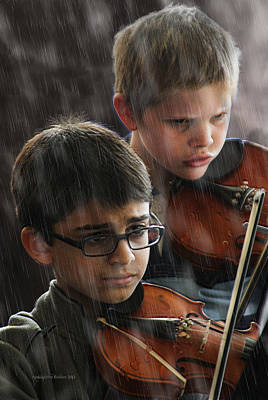 Young Musicians Impression #45 Poster