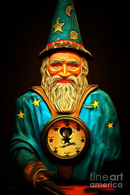 Your Fortune Be Told By The Wizard Fortune Telling Machine 7d144 Poster