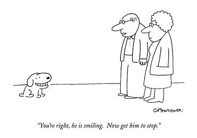 You're Right Poster by Charles Barsotti