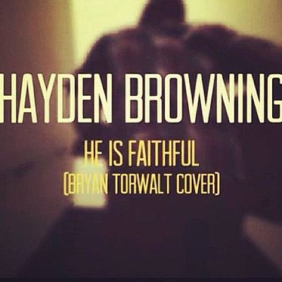 Youtube.com/haydenbrowningmusic Go Poster