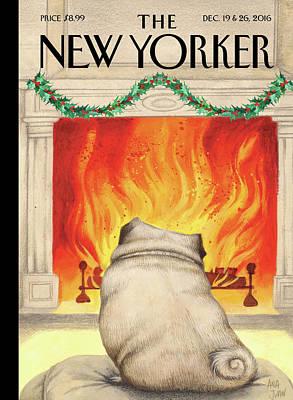 Yule Dog Poster