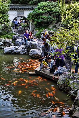 Yuyuan Gardens In Shanghai Poster