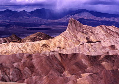 Zabriskie Point Death Valley National Park Poster