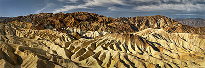Zabriskie Point Panorama Poster by Eduard Moldoveanu