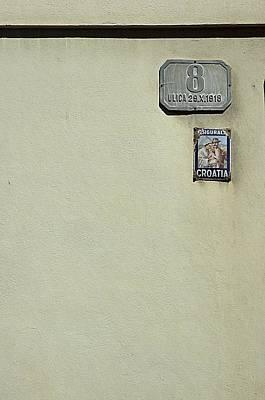 Zagreb Minimalism Poster by Steven Richman
