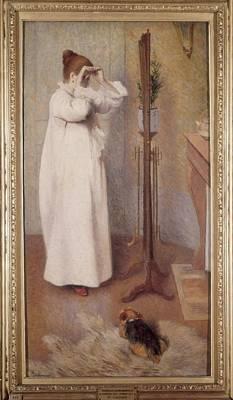Zandomeneghi, Federico 1841-1917. Il Poster by Everett