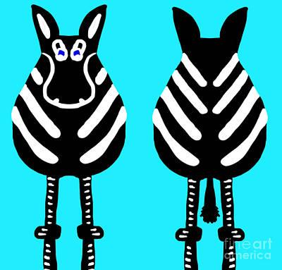 Zebra - Both Ends Poster