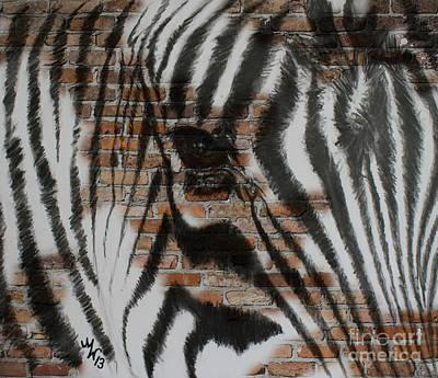 Zebra Wall Poster