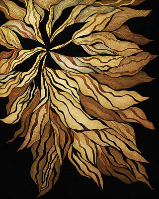 Zen Blossom Poster by Brenda Bryant