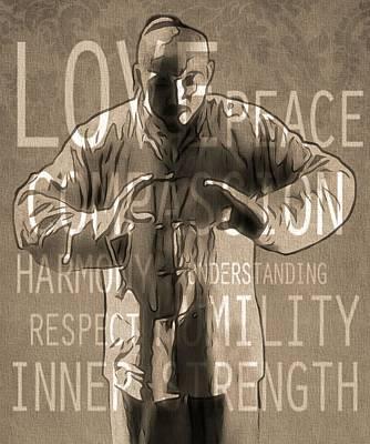 Zen Harmony Poster by Dan Sproul