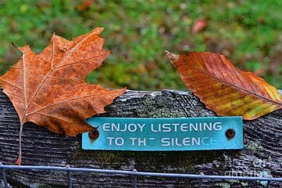 Zen Inner Peace Poster by Paul Ward