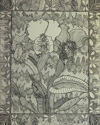 Zen Orchids Poster
