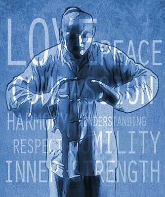 Zen Peace Poster by Dan Sproul