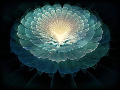 Zen Poster by Rhonda Barrett