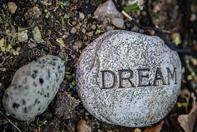 Zen Stone Dream  Poster by Eti Reid